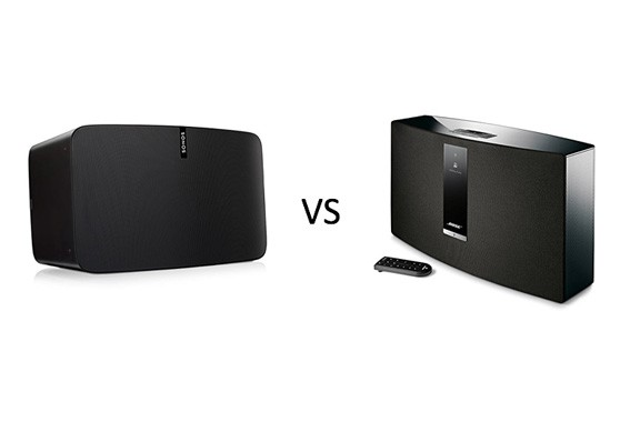 Bose SoundTouch 30 vs Sonos Play5 Comparison