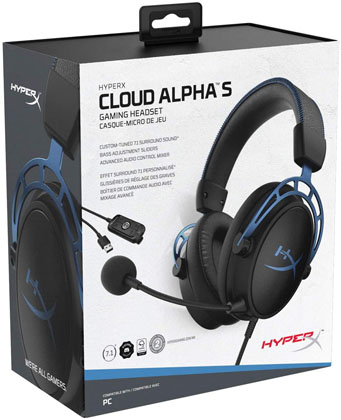 HyperX Cloud Alpha S Features