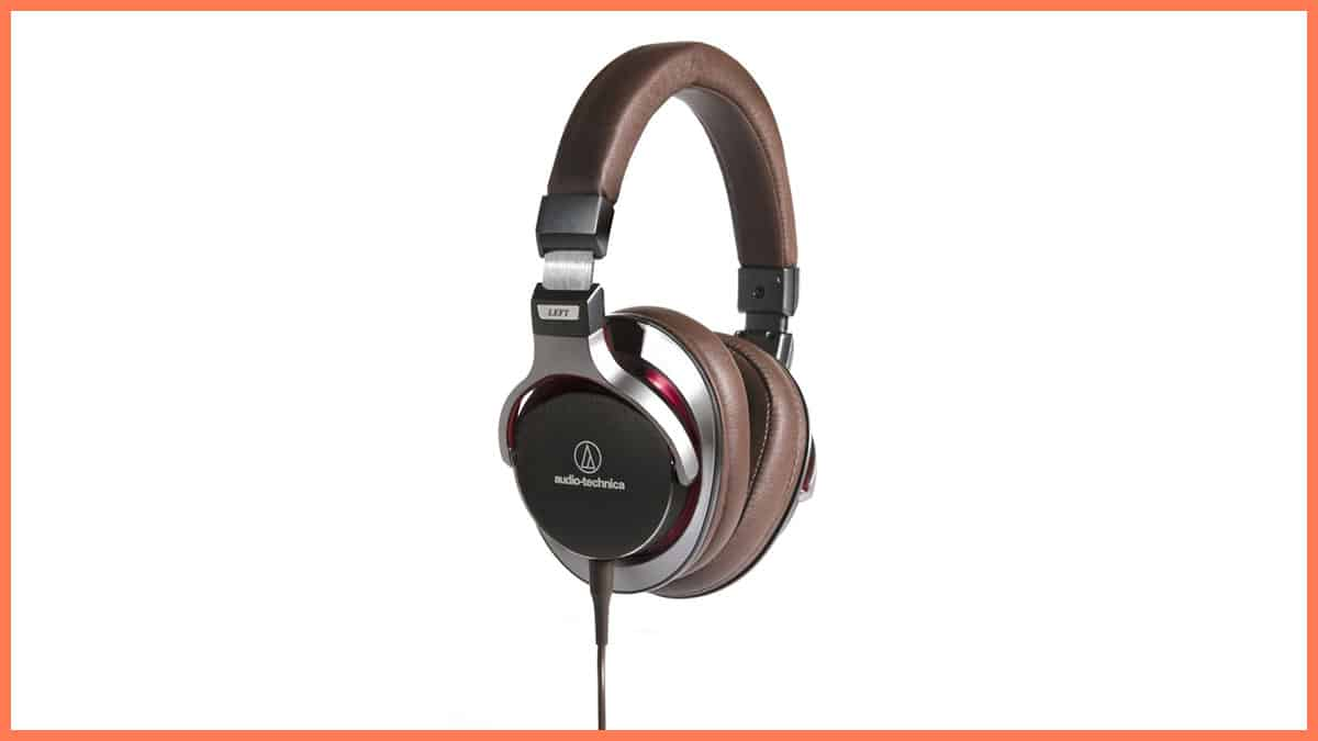 Audio Technica ATH MSR7 Headphones