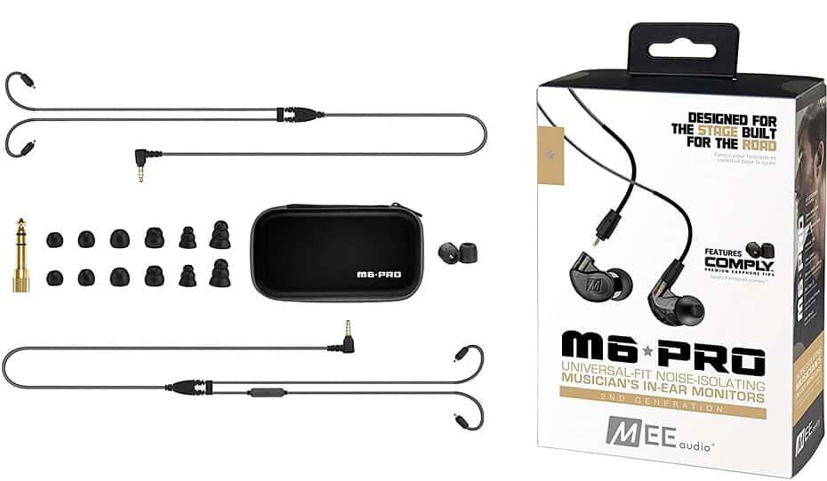 Mee Audio M6 Pro 2nd Generation Inside The Box