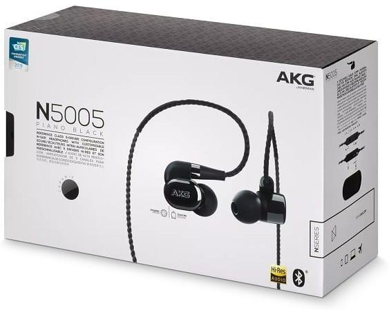 AKG N5005 Earbuds Inside The Box